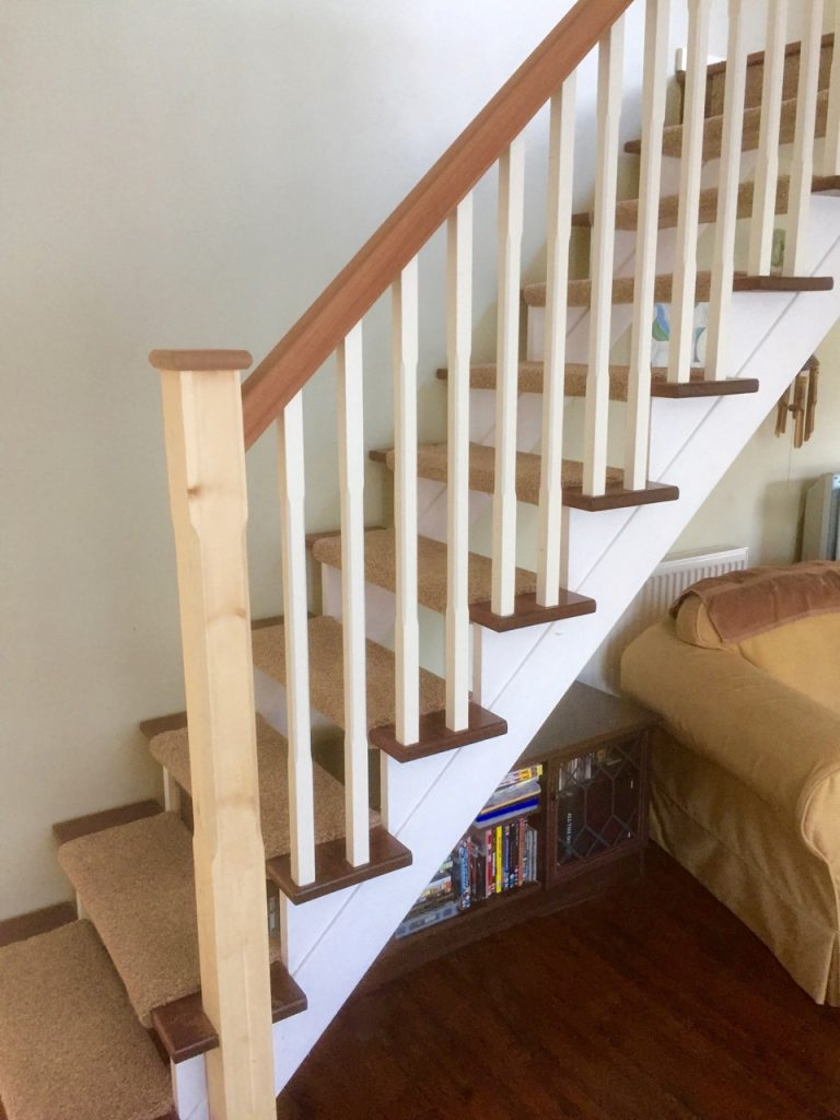 Open Stairs Storage